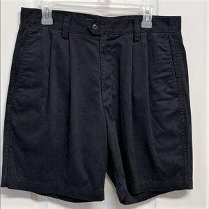 Dockers Dress Shorts Size 34 Black